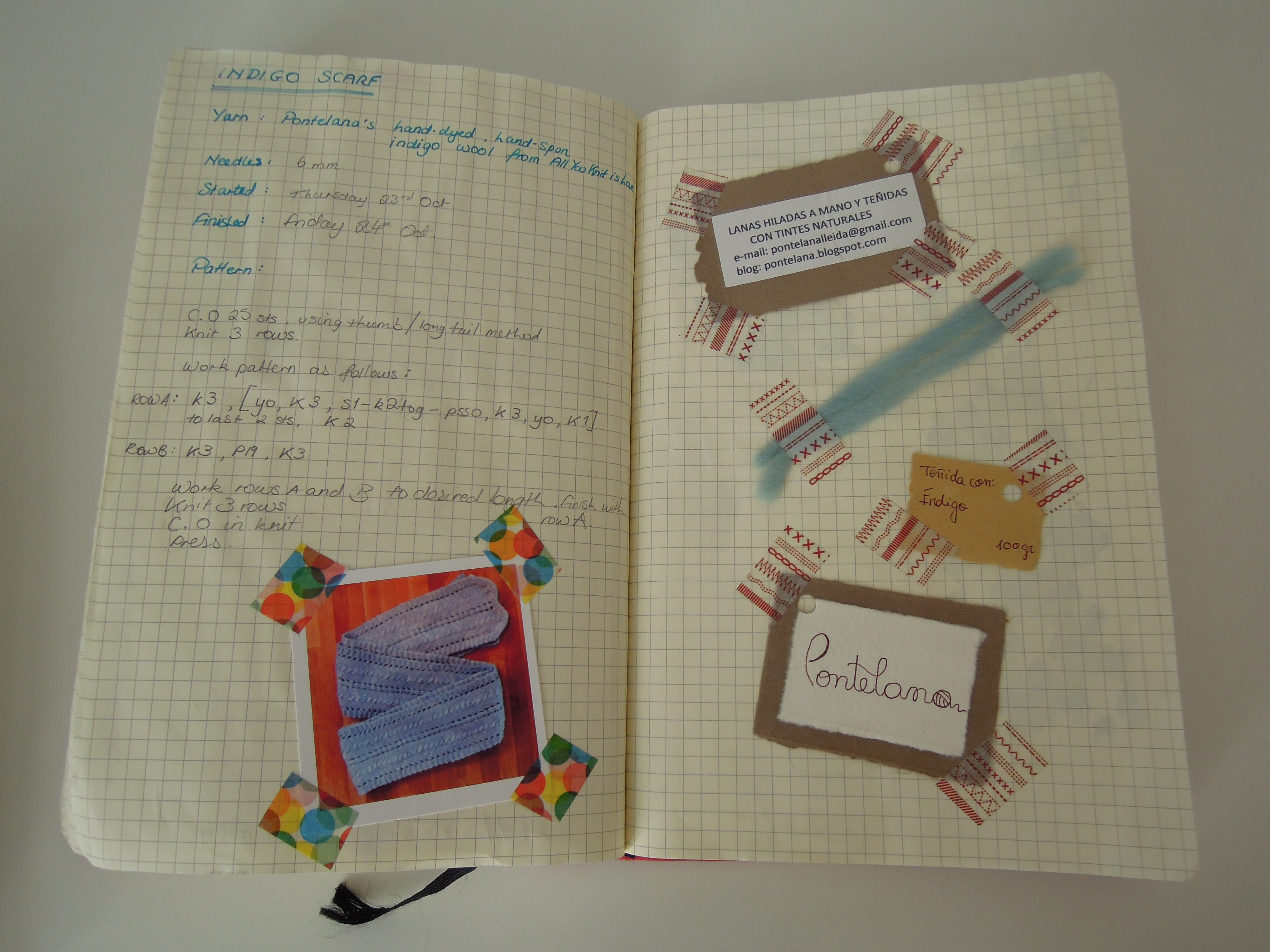 Knitting Project Journal : Knitting notebooks and journals on pinterest