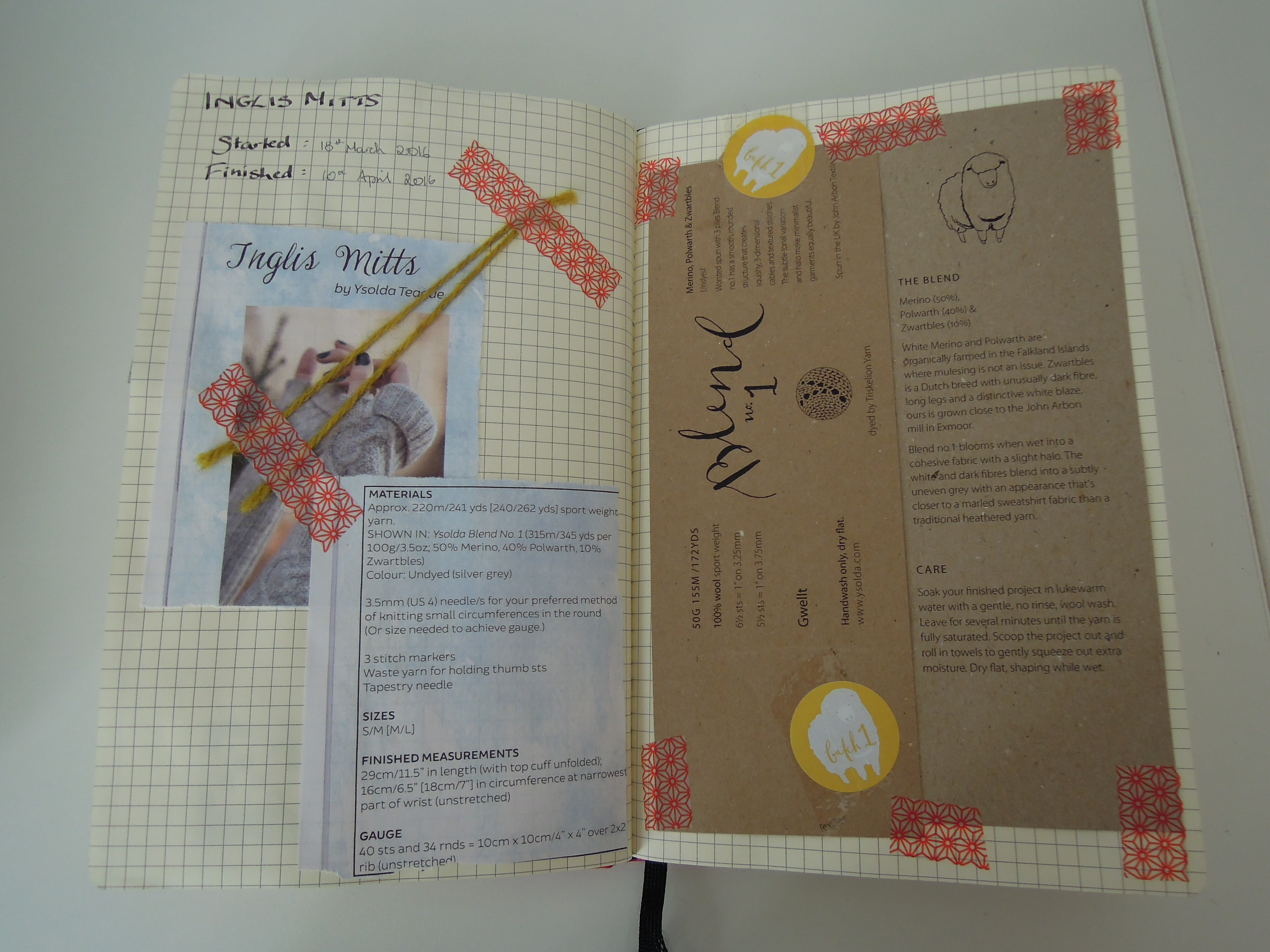 Knitting Project Journal : My knitting journals woolly originals